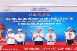 Hơn 1.000 tỷ đồng hỗ trợ xây dựng nông thôn mới Hà Tĩnh