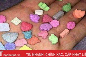 Tác hại nghiêm trọng của ma túy 'quả dâu tây nhanh'