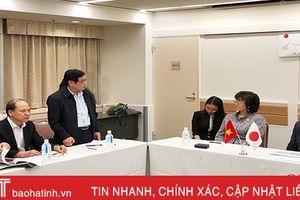 Nhật Bản tiếp tục hỗ trợ chương trình nước sạch vùng khó khăn ở Hà Tĩnh