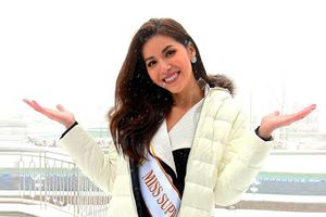 Chịu lạnh âm 3 độ, Minh Tú lấn át dàn đối thủ Miss Supranational nhờ bộ đôi thời trang kinh điển