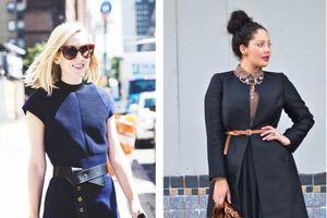 8 bí quyết chọn trang phục giúp chị em ăn gian cân nặng