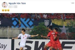 Văn Toàn buồn vì bàn thắng trong trận Myanmar không được công nhận - Hồng Duy phát ngôn gây sốc