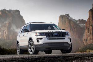 Ford triệu hồi 160 xe Explorer 2018 do lỗi động cơ