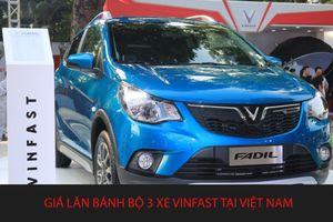 Giá lăn bánh bộ 3 xe VinFast tại Việt Nam là bao nhiêu?