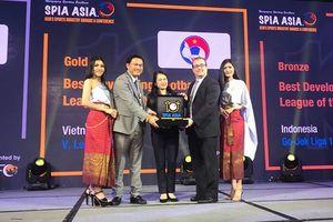 V-League 1 đoạt giải Vàng hạng mục Giải đấu Phát triển tốt nhất châu Á 2018