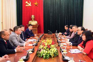 Tăng cường hợp tác Hà Nội - Astana