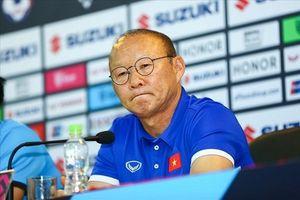 HLV Park Hang Seo: 'Việt Nam hòa vì thiếu một chút may mắn'