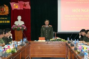 Cụm thi đua số 8 - Khối các đơn vị trực thuộc Bộ tổng kết phong trào Vì ANTQ