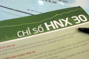 HNX điều chỉnh định kỳ rổ chỉ số HNX30
