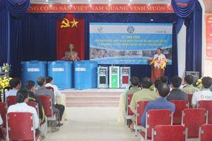 Tân Á Đại Thành trao tặng 21 bồn nước cho người dân vùng sạt lở tỉnh Hòa Bình