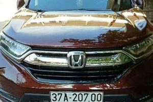 Nghệ An: Trưởng công an phường đi xe biển giả vì... phong thủy