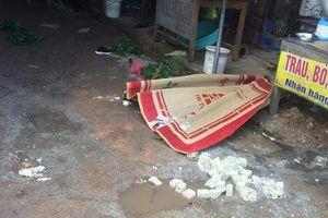 Nghi phạm bắn chết người phụ nữ giữa chợ Hải Dương đã tử vong