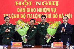 Thiếu tướng Nguyễn Hồng Thái làm Tư lệnh Bộ Tư lệnh Thủ đô