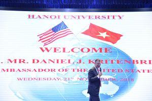 Đại sứ Daniel Kritenbrink: 'Những gì Mỹ và Việt Nam đạt được là điều kỳ diệu'