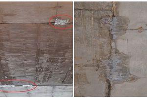 VEC phản hồi về thông tin sửa hầm chui cao tốc bằng dán băng keo