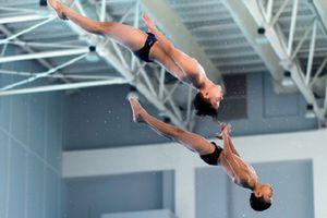 Hà Nội tạm dẫn đầu bảng tổng sắp huy chương môn nhảy cầu