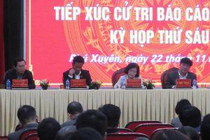 Cử tri huyện Phú Xuyên: Môi trường, giao thông gây ảnh hưởng đến người dân