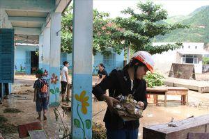 Khánh Hòa: Gia cố trường lớp, chủ động cho học sinh nghỉ học khi có mưa lớn