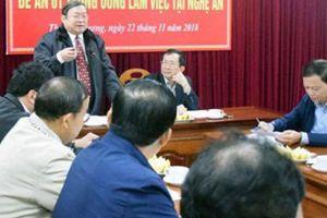 Chủ tịch Hội NDVN Thào Xuân Sùng: Thực hiện hiệu quả Đề án 61
