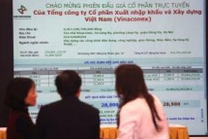 Nhiều bất ngờ với kết quả đấu giá cổ phần Vinaconex