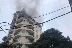 Bên trong khách sạn phố cổ Moonview vừa xảy ra hỏa hoạn