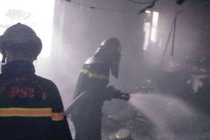 Cận cảnh hiện trường vụ cháy khách sạn Moonview, Hà Nội