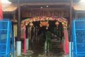 Nam thanh niên bị đâm chết trong đám cưới làng