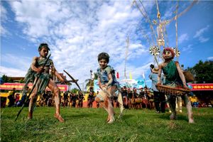 Sắc màu văn hóa qui tụ tại Festival cồng chiêng Tây Nguyên