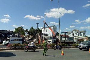 Vụ tai nạn cháy xe bồn khiến 6 người chết: Khẩn trương khắc phục điện