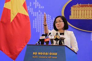 Yêu cầu Trung Quốc không tái diễn các hoạt động tại Hoàng Sa