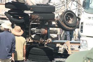 Xe bồn chạy tốc độ 96km/h khi xảy ra tai nạn khiến 6 người chết