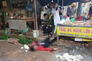 Nghi phạm bắn chết người phụ nữ giữa chợ đã tử vong