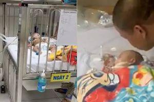 Bố mẹ đau đớn kể phút bé 4 tháng ở Hà Nội tử vong do ngủ bị đè