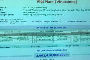 Cùng ngày đấu giá VCG, lô bán của Viettel thấp hơn 25% so với SCIC