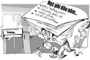 Danh sách các trường ở Hà Nội đặt ra các khoản thu trái quy định