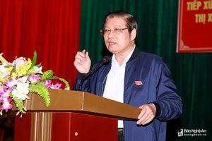 Đồng chí Phan Đình Trạc: 'Không có cái gì của cán bộ ngoài tầm kiểm soát của nhân dân'