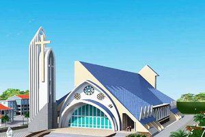 Giáo xứ Yên Đại gấp rút hoàn thành công trình gần 100 tỷ đồng đón Giáng sinh 2018