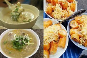 Mong ngày rét về để lê la khắp Hà Nội ăn những món cháo ngon