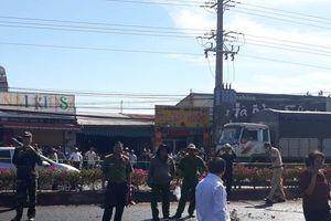 Vụ cháy xe xăng 6 nạn nhân tử vong ở Bình Phước, người chồng uất nghẹn mong vợ con yên nghỉ