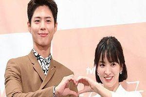 Nhan sắc đỉnh cao của Song Hye Kyo bên mỹ nam Park Bo Gum