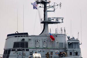 Chùm ảnh: Tàu đổ bộ 'khủng' của Nga chở số lượng lớn vũ khí tới Syria