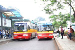 Từ nay đến cuối năm, Hà Nội sẽ không điều chỉnh luồng tuyến buýt