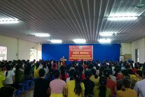 LĐLĐ huyện Ứng Hòa: Nâng cao hiểu biết pháp luật cho người lao động