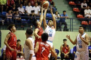 Thành phố Hồ Chí Minh thống trị ở môn bóng rổ 5x5