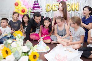 Trương Ngọc Ánh 'tái hợp' chồng cũ, cùng tổ chức sinh nhật cho con gái