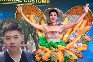 Chủ nhân Quốc Phục 'Bánh Mì' lên tiếng: Điền đến với cuộc thi là vì Miss Universe Vietnam và H'Hen Niê, chứ không phải để làm 'hài lòng' khán giả
