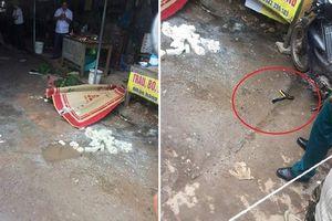Nghi phạm bắn người phụ nữ bán đậu ở Hải Dương đã tử vong
