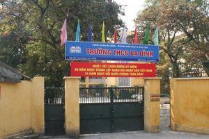 UBND quận Ba Đình lên tiếng về vụ giáo viên kiện Hiệu trưởng trường THCS Ba Đình