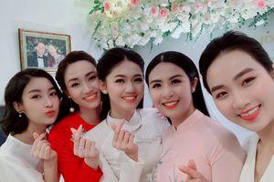 Á hậu Thanh Tú tổ chức lễ ăn hỏi với bạn trai U40 ở Hà Nội
