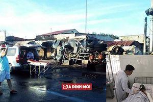 Tai nạn thảm khốc ở Bình Phước: Tài xế lái xe bồn được chăm sóc đặc biệt vì bị thương nặng
